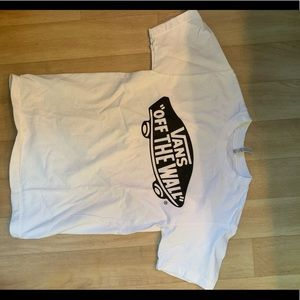 White vans off the wall shirt